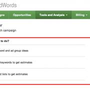 el keyword planner de google como funciona